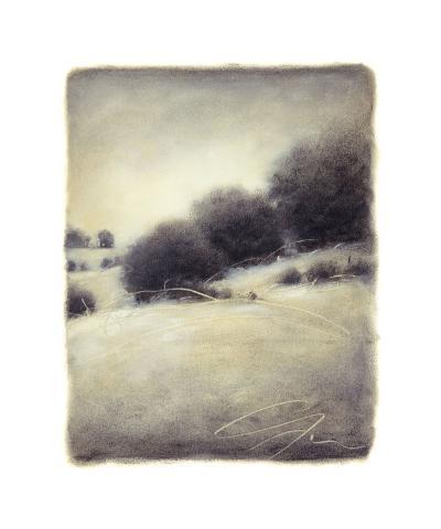 Hill Side III-Gretchen Hess-Giclee Print