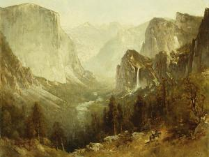 Hunting In Yosemite by Hill Thomas