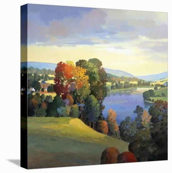 Hill & Valley III-Max Hayslette-Stretched Canvas Print