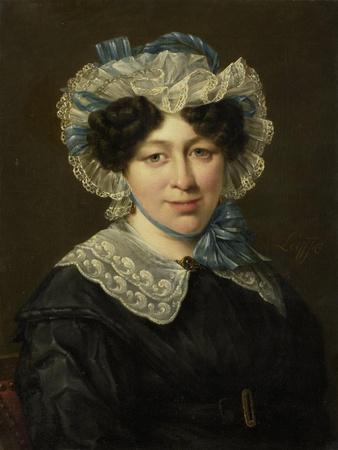 Portrait of Maria Adriana Van Der Sluys, Wife of Hermanus Martinus Eekhout