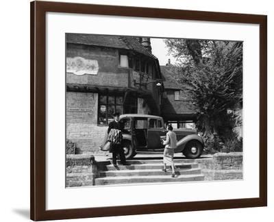 Hillman Hawk, Penshurst, Kent, 1937--Framed Photographic Print