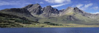 Hills, Cuillins, Loch Slapin, Isle of Skye, Scotland--Photographic Print
