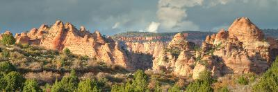 Hills of Kolob Canyon in Afternoon Light-Vincent James-Photographic Print