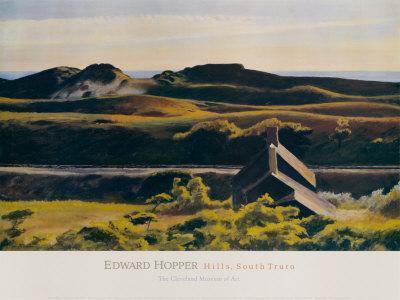 Hills, South Truro, 1930-Edward Hopper-Art Print