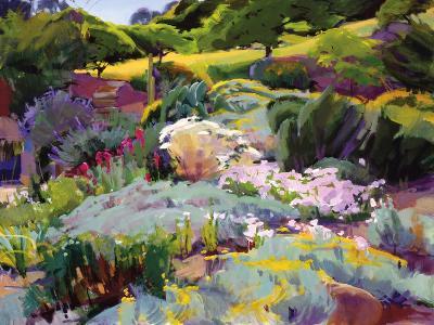 Hillside Garden-Marcia Burtt-Art Print