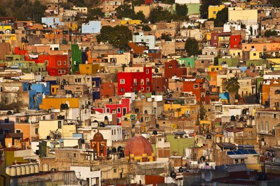 Hillside View of Guanajuato-Craig Lovell-Photographic Print