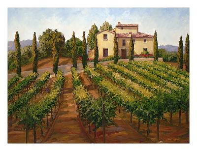 Hilltop Villa-Susan Hoehn-Art Print