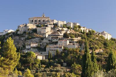 Hilltop Village of Gordes, Provence, Provence-Alpes-Cote D'Azur, Southern France, France, Europe-Markus Lange-Photographic Print