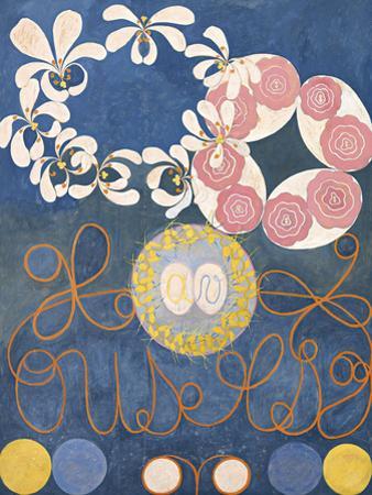 Childhood, The Ten Largest, No.1, Group IV, 1907 by Hilma af Klint
