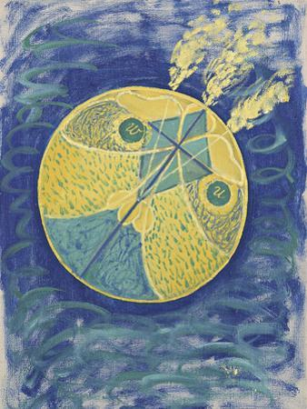 Group I, No.7, Primordial Chaos by Hilma af Klint