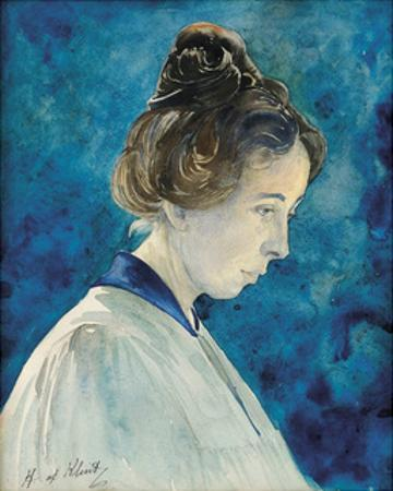 Self Portrait by Hilma af Klint