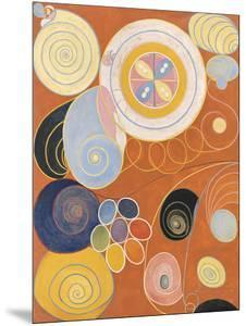 Youth, The Ten Largest, No.3, Group IV, 1907 by Hilma af Klint