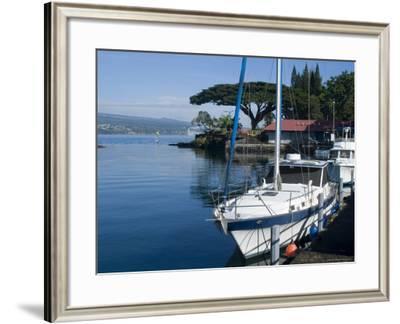 Hilo Bay, Island of Hawaii (Big Island), Hawaii, USA-Ethel Davies-Framed Photographic Print