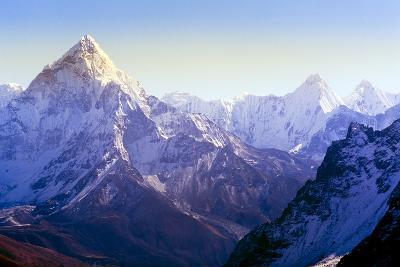 Himalaya Mountains-Microstock Man-Photographic Print