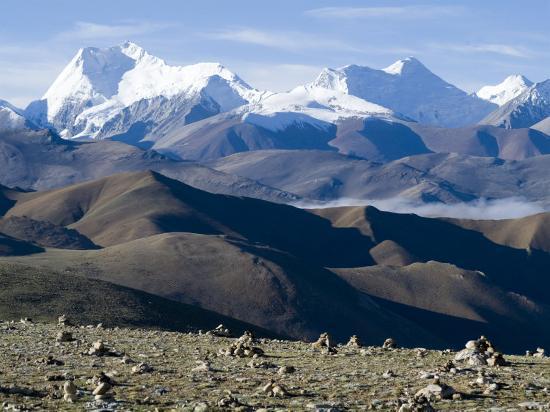 Himalaya Range, Tibet, China-Ethel Davies-Photographic Print