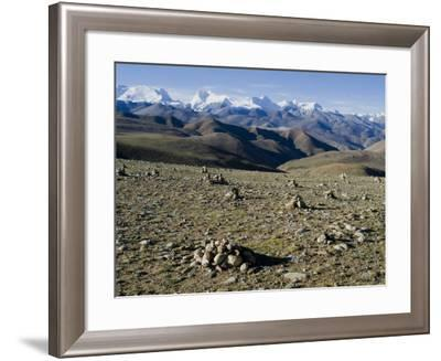 Himalaya Range, Tibet, China-Ethel Davies-Framed Photographic Print