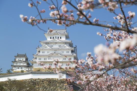Himeji Castle, Himeji, Kansai, Honshu, Japan-Ian Trower-Photographic Print