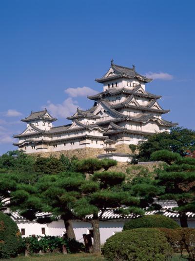 Himeji Castle, Main Tower, Himeji, Honshu, Japan-Steve Vidler-Photographic Print
