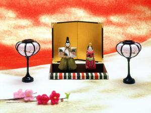 Hina Dolls for the Girls' Festival, 3rd of March, Japan