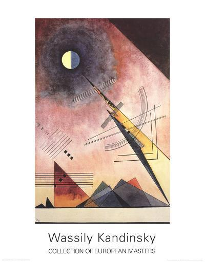 Hinauf-Wassily Kandinsky-Collectable Print