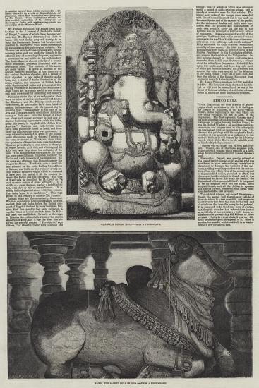 Hindoo Idols--Giclee Print
