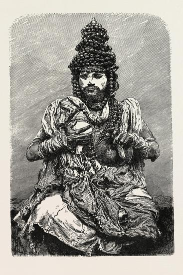 Hindoo Religious Mendicant. the Term Mendicant Refers to Begging or Relying on Charitable Donations--Giclee Print