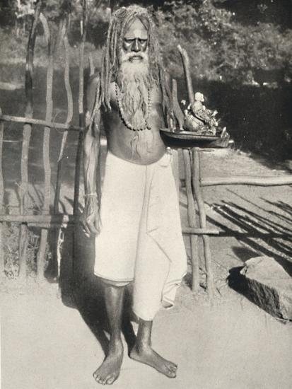 'Hindu-Busser (Asket)', 1926-Unknown-Photographic Print