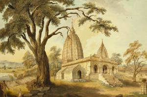Hindu Temple at Sambatpur in Orissa, India