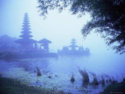 Hindu Temple of Bataun in the Mist, Island of Bali, Indonesia, Southeast Asia, Asia-Bruno Morandi-Photographic Print