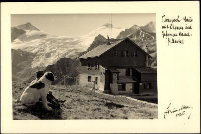 Hintertux Tirol, Tuxerjoch Haus, Olperer, Gefrorne Wand, Berhardiner--Giclee Print