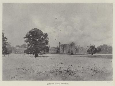 Hinton St George, Crewkerne-Joseph Holland Tringham-Giclee Print