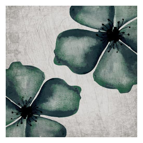 Hints of Emerald 2-Kimberly Allen-Art Print