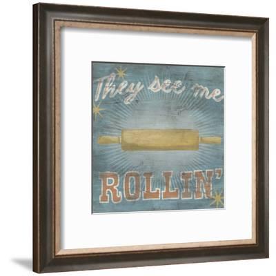Hip Kitchen II-June Erica Vess-Framed Art Print