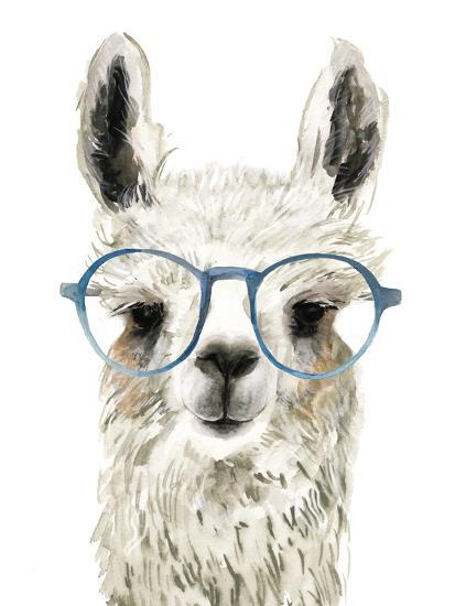 68d540a089 Hip Llama II Art Print by Victoria Borges
