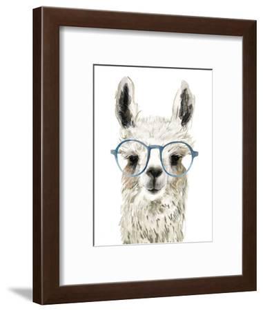 Hip Llama II-Victoria Borges-Framed Art Print