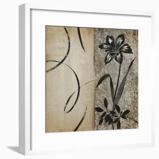 Hip Platinum Tulip-Liz Jardine-Framed Art Print