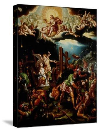The Martyrdom of Saint Catherine of Alexandria, Mid of the 18th C