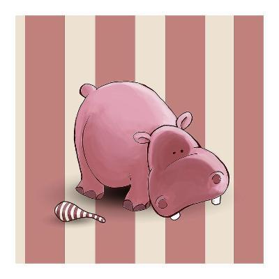 Hippo-GraphINC-Art Print