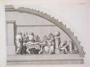 """Hippocrates Teaching, from """"A Description of the School of Surgery in Paris,"""" Published 1780"""