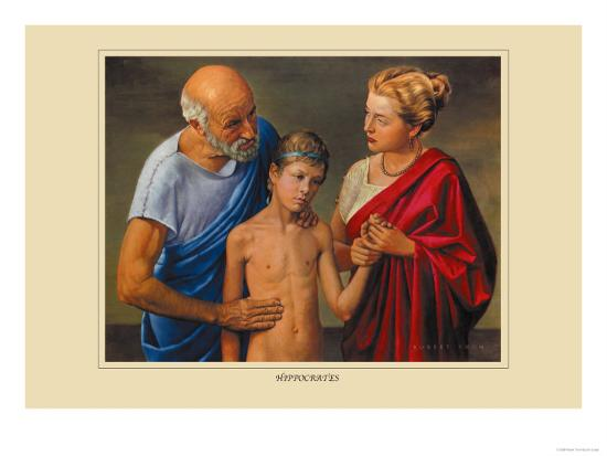 Hippocrates-Robert Thom-Art Print