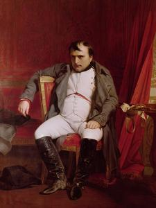 Napoleon (1769-1821) after His Abdication by Hippolyte Delaroche