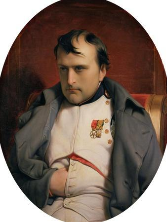 Napoleon (1769-1821) in Fontainebleau, 1846