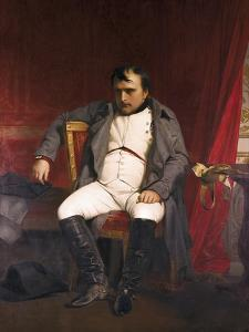Napoleon after His Abdication by Hippolyte Delaroche