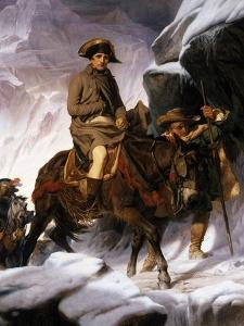 Napoleon Crossing the Alps, 1850 by Hippolyte Delaroche