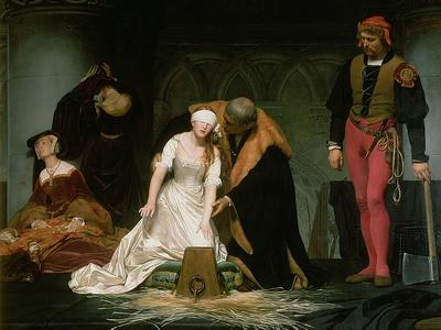 The Execution of Lady Jane Grey, 1833