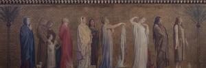 Frise de saintes et saints by Hippolyte Flandrin