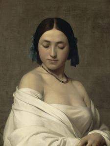 Jeune fille by Hippolyte Flandrin