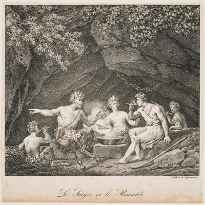 La Satyre Et Le Passant, 1819