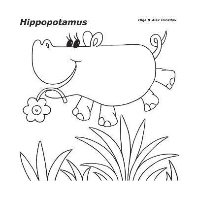 Hippopotamus-Olga And Alexey Drozdov-Giclee Print