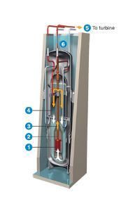 A 45-Megawatt Nuclear, Water-Cooled Reactor to Be Installed Underground by Hiram Henriquez